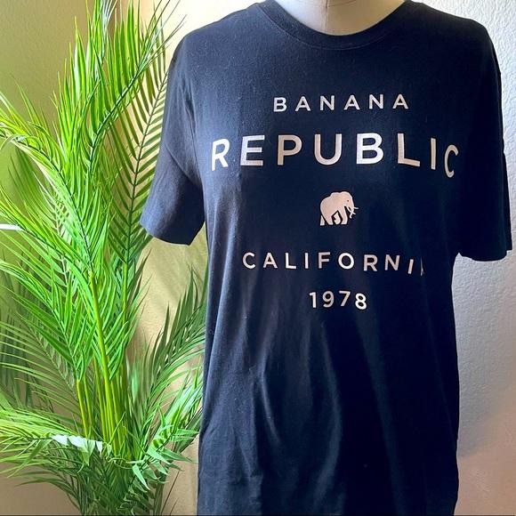Banana Republic Logo Tshirt
